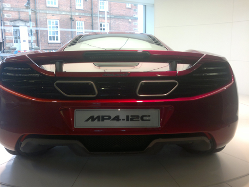 McLaren Mp4-12c Launch