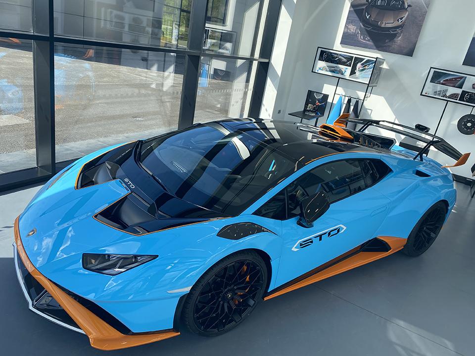 Lamborghini Hurcan STO Launch